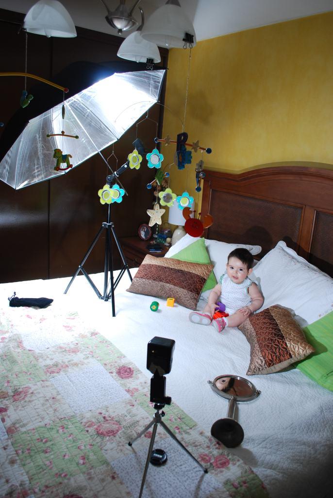 sesion de fotografia con bebes